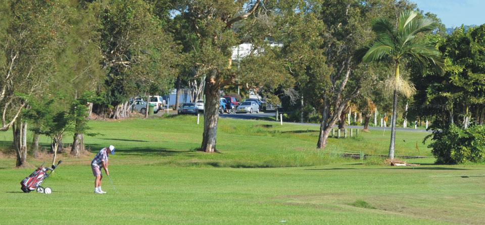 11 Hole Golf Course