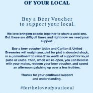 Buy a beer voucher!