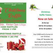 Christmas Raffle December 18